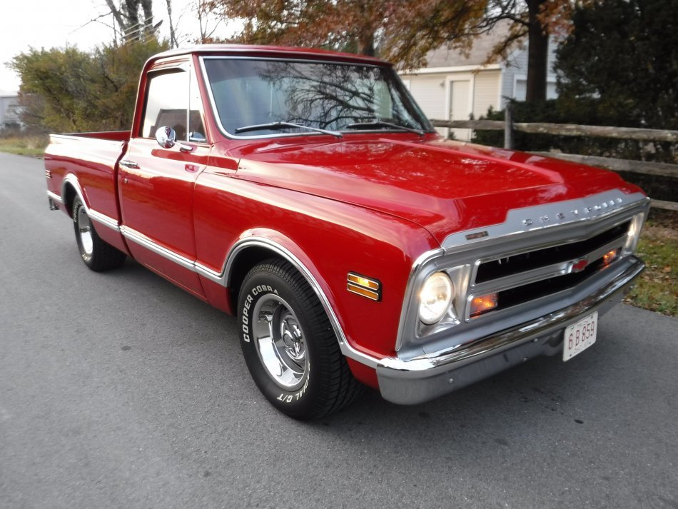 1968 Chevrolet C-10 SHORT BOX SHORT BOX, V8, AUTO, RESTORED in Milford, OH