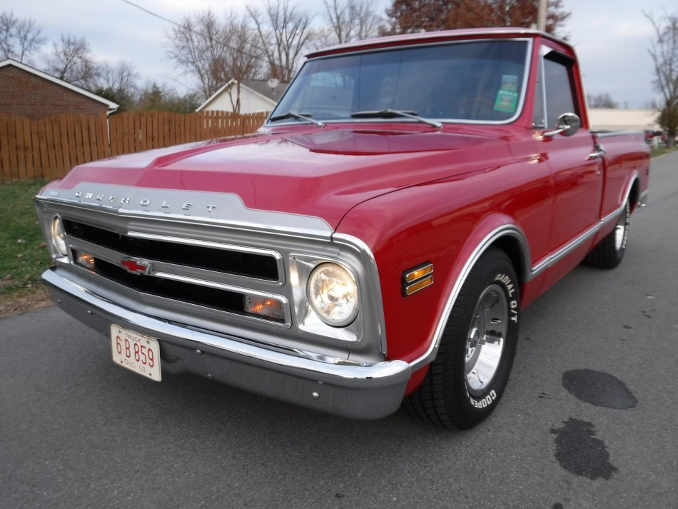 1968 Chevrolet C-10 SHORT BOX SHORT BOX, V8, AUTO, RESTORED - Photo