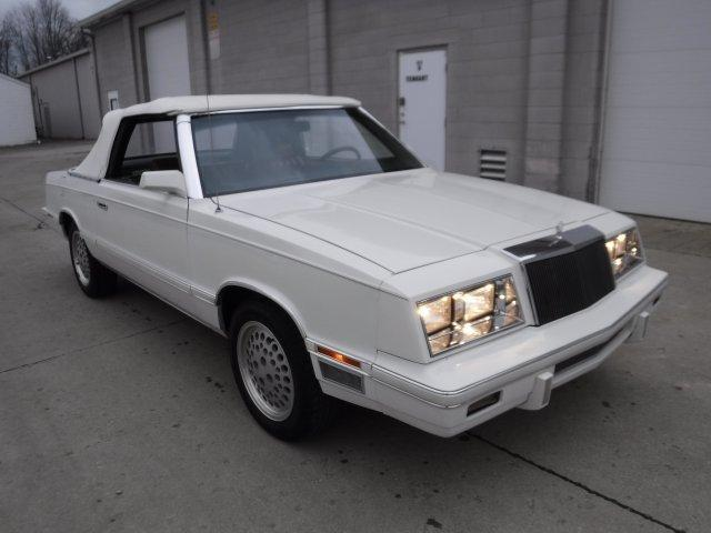 1982 CHRYSLER LEBARON CONVERTIBLE MARK CROSS 2.6 ENGINE in Milford, OH