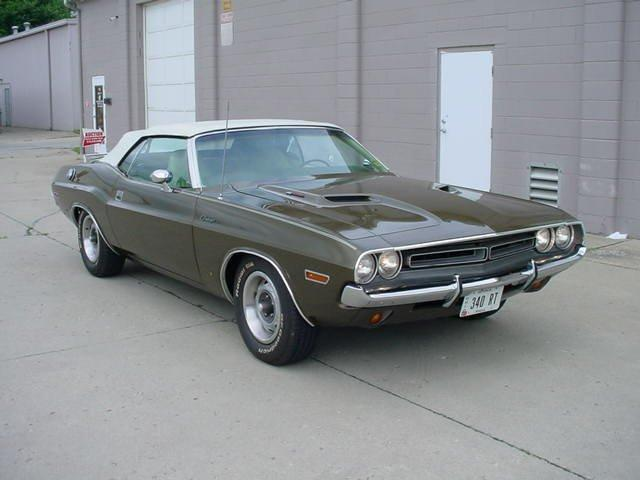 1971 DODGE CHALLENGER CONVERTIBLE 340 340 AUTO CONVERTIBLE - Photo