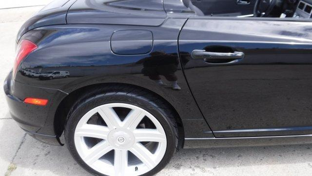 2005 CHRYSLER CROSSFIRE CONVERTIBLE 6 SPEED CONVERTIBLE 6 SPEED BLACK / BLACK - Photo
