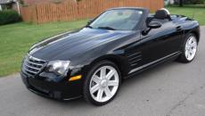 2005 CHRYSLER CROSSFIRE CONVERTIBLE 6 SPEED CONVERTIBLE 6 SPEED BLACK / BLACK