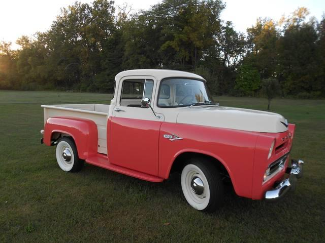 1957 DODGE D-100 PICKUP TRUCK D-100 STEP SIDE in Milford, OH