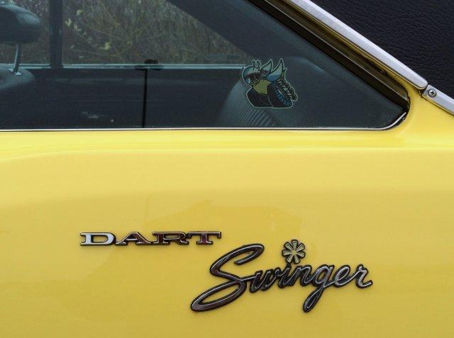 1970 DODGE DART SWINGER 340 AUTO AC - Photo