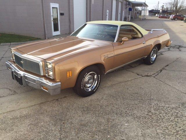 1977 CHEVROLET ELCAMINO 350-4, VINYL TOP, BED RAILS in Milford, OH