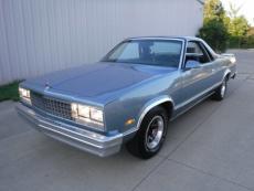 1987 CHEVROLET ELCAMINO V8, AUTO, TWO TONE PAINT