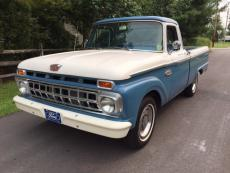 1965 FORD F-100 CUSTOM CAB SHORT BOX 352 MANUAL TRANS, SHORT BOX CUSTOM CAB
