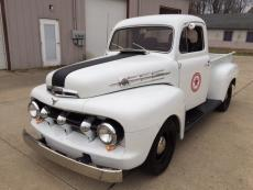 1951 FORD F-1 PICK UP TRUCK F1 302 V8, AUTO, WOOD BED