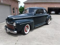 1946 FORD SUPER DELUXE COUPE FLAT HEAD WITH 5 SPEED