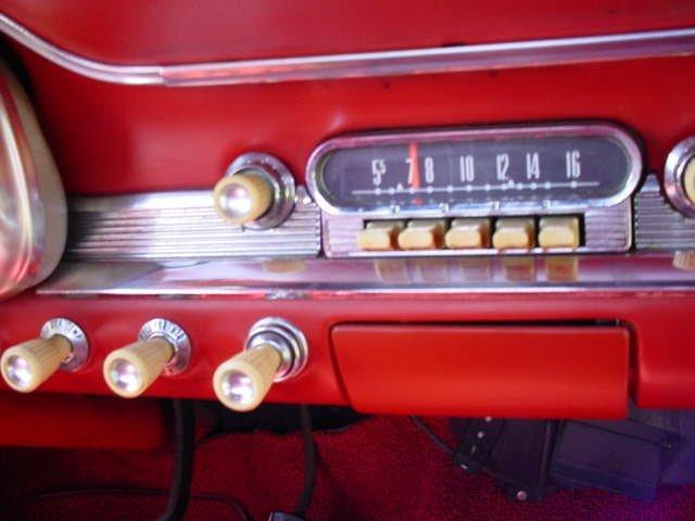1963 FORD FALCON CONVERTIBLE 6 CYL, CONVERTIBLE RED / RED - Photo