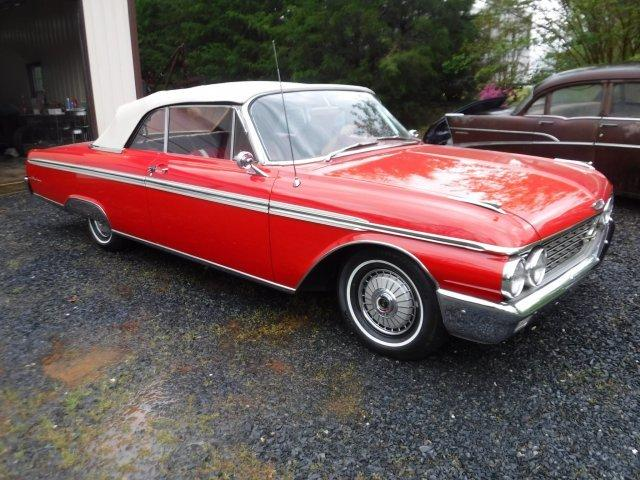 1962 FORD GALAXIE SUNLINER CONVERTIBLE in Milford, OH