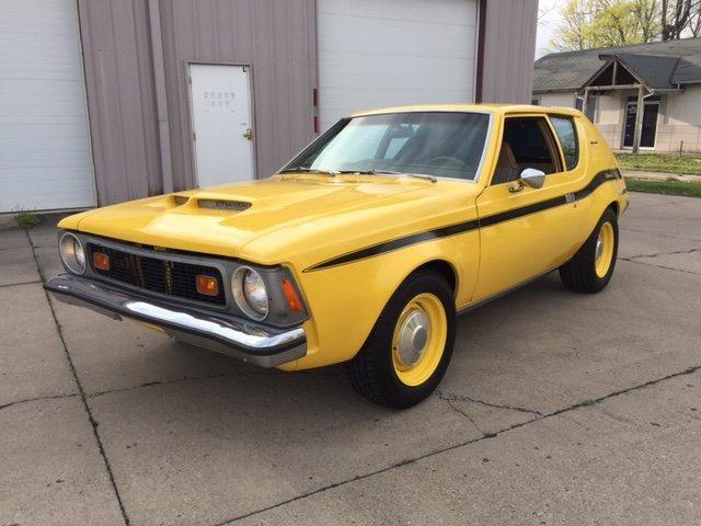 1973 AMC GREMLIN HATCH BACK L-88 POWERED 454 BENCH SEAT in Milford, OH