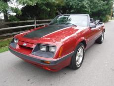 1986 FORD MUSTANG GT GT CONVERTIBLE 5 SPEED