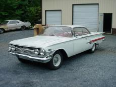 1960 CHEVROLET IMPALA BUBBLE TOP COUPE BUBBLE TOP 348 HI-PO