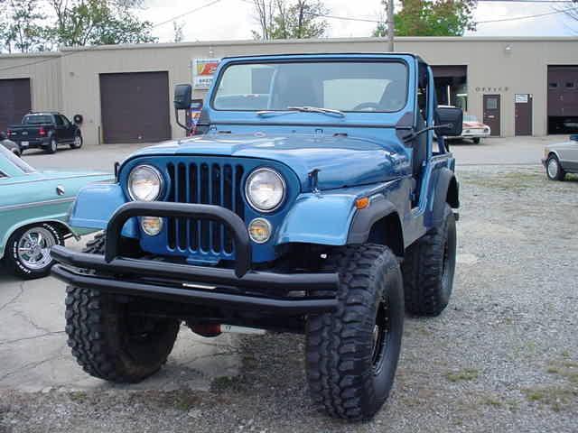 1976 JEEP CJ5 304-2 V8, MANUAL TRANSMISSION in Milford, OH