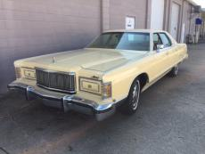 1978 MERCURY GRAND MARQUIS 4 DOOR 460 ENGINE