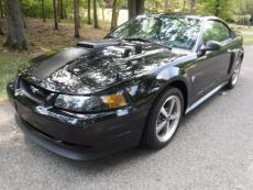 2003 FORD MUSTANG MACH 1 5 SPEED BLACK / BLACK