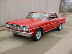 1964 CHEVROLET CHEVELLE / MALIBU COUPE 396 FOUR SPEED BUCKET SEATS