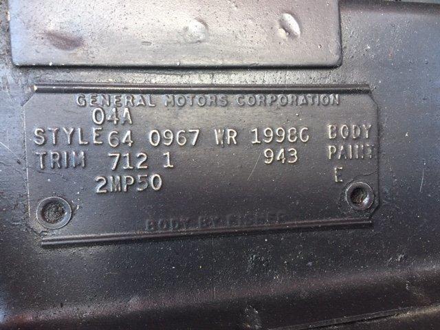 1964 CHEVROLET CORVAIR MONZA CONVERTIBLE MONZA CONVERTIBLE - Photo