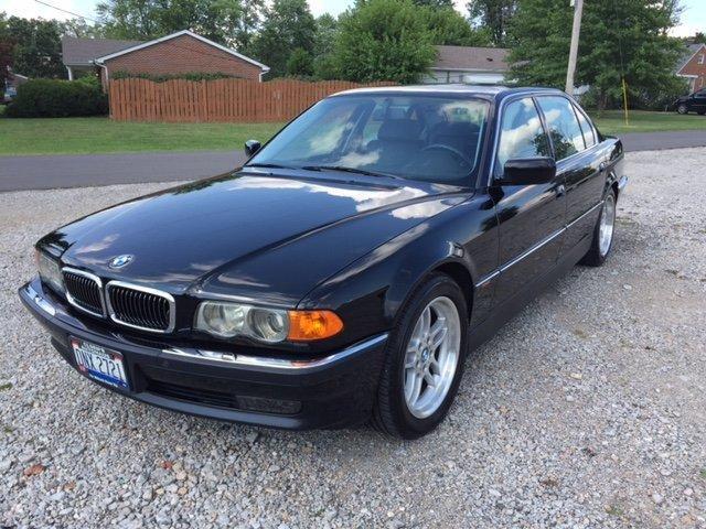 1999 BMW 750IL 12 CYLINDER BLACK / BLACK LEATHER in Milford, OH