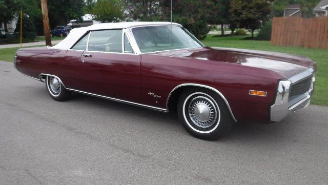 1970 CHRYSLER NEWPORT CONVERTIBLE 383, AC, in Milford, OH