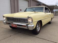 1966 CHEVROLET NOVA COUPE V8 4 SPEED