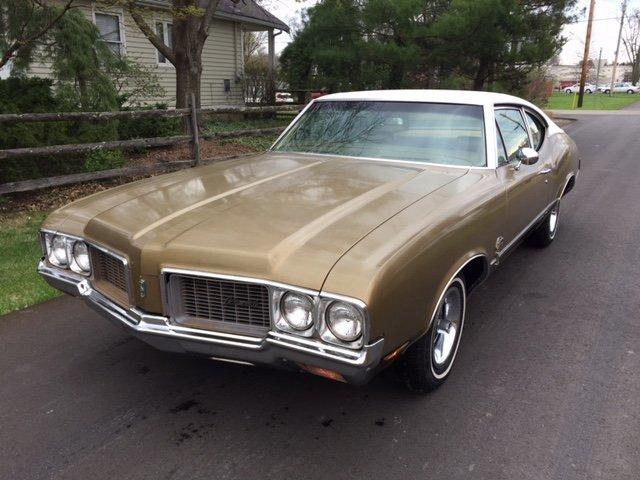 1970 OLDSMOBILE CUTLASS SPORT COUPE SPORT COUPE, 350, AUTO, AC, BENCH SEAT in Milford, OH