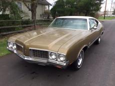 1970 OLDSMOBILE CUTLASS SPORT COUPE SPORT COUPE, 350, AUTO, AC, BENCH SEAT