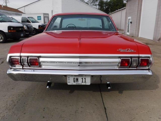 1965 PLYMOUTH SPORT FURY 426 WEDGE OPTION - Photo