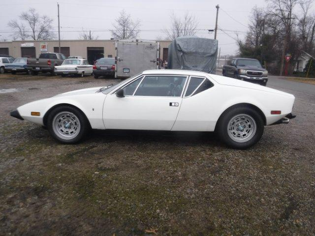 1974 OTHER DE TOMASO PANTERA GTS GTS WHITE / BLACK - Photo