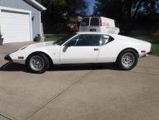 1974 OTHER DE TOMASO PANTERA GTS GTS WHITE / BLACK