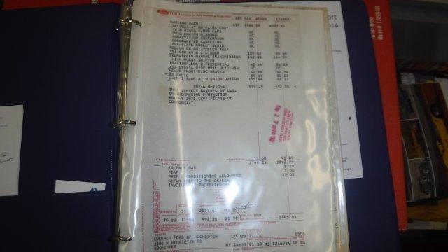 1973 FORD MACH 1 COBRA JET 4 SPEED Q CODE - Photo