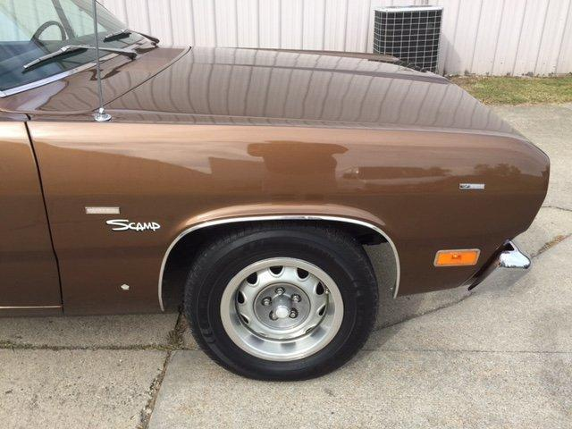 1971 PLYMOUTH SCAMP COUPE V8, MANUAL TRANS - Photo