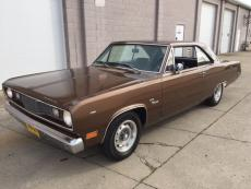 1971 PLYMOUTH SCAMP COUPE V8, MANUAL TRANS