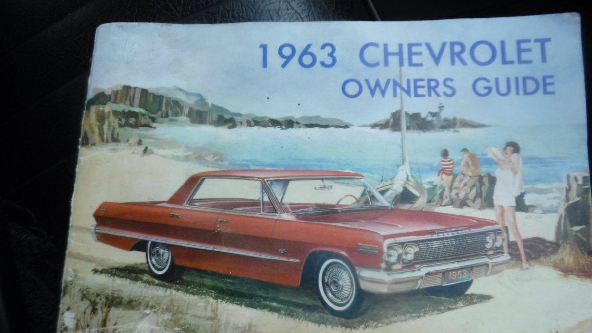 1963 CHEVROLET IMPALA SUPER SPORT - Photo