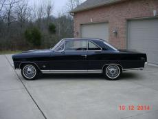 1966 CHEVROLET NOVA SUPER SPORT L-79 327-350 L-79 FOUR SPEED, BLACK/ BLACK