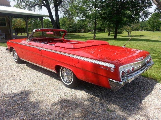 1962 CHEVROLET IMPALA SS 409 DUAL QUAD FOUR SPEED CONVERTIBLE in Milford, OH
