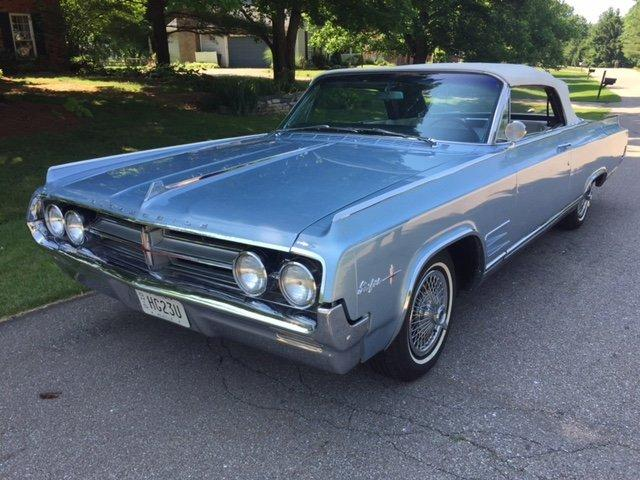 1964 OLDSMOBILE STARFIRE CONVERTIBLE CONVERTIBLE LEATHER INTERIOR AC in Milford, OH