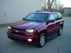 2002 CHEVROLET TRAILBLAZER LTZ 4X4 LTZ 4X4 LEATHER, ALLOYS