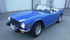 1976 TRIUMPH TR6 TONNAU AND SOFT TOP