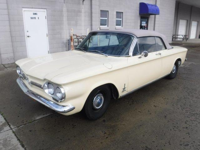 1962 CHEVROLET CORVAIR SPYDER MONZA SPYDER TURBO CONVERTIBLE 4 SPEED in Milford, OH