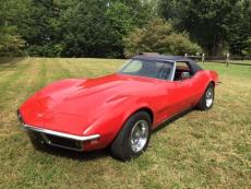 1968 CHEVROLET CORVETTE CONVERTIBLE 327-350 4 SPEED HARD TOP CONVERTIBLE