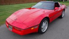 1989 CHEVROLET CORVETTE TARGA ROOF LEATHER TARGA TOP