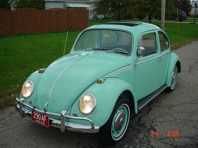 1966 VOLKSWAGEN BEETLE 1300 SUN ROOF SLIDING ROOF 1300 BAHAMA BLUE in Milford, OH