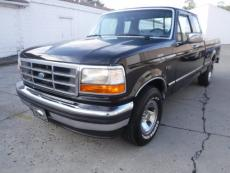 1994 FORD F-150 XLT 5.8 SHORT BOX FACTORY BLACK