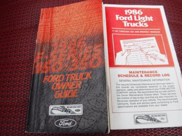 1986 FORD F-150 XLT SHORT BOX LARIAT - Photo