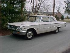 1963 FORD GALAXIE 500 BOX TOP 406