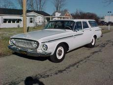 1962 DODGE MAX WEDGE WAGON