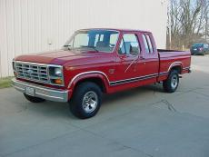 1983 FORD F-150 SUPER CAB SHORT BOX