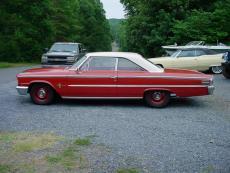 1963 FORD GALAXIE 500 SPORT ROOF 390-4, AUTO, PS, PB, AM/FM RADIO
